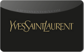 2070bbfc0dc17 Buy Discount Yves Saint Laurent Gift Cards